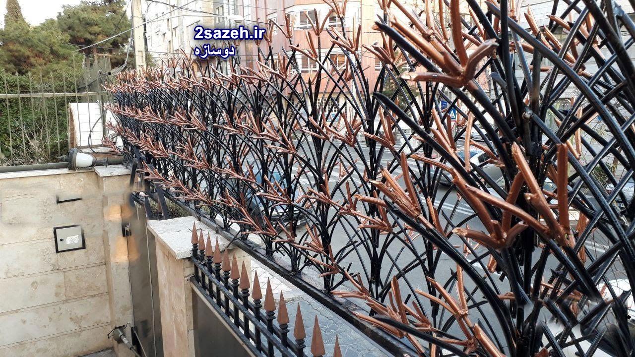 حفاظ آهنی لیلیوم در مازندران