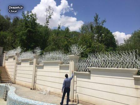 مشخصات نرده حفاظ شاخ گوزنی در مازندران